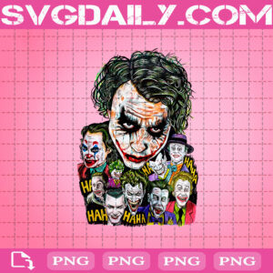 Jokers Png, The Dark Knight Movie Png, Png Printable, Instant Download, Digital File