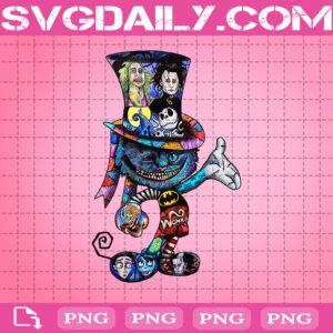 Tim Burton Cat Png, Cat Png, Bat Man Png, Edward Scissorhands Png, Png Printable, Instant Download, Digital File
