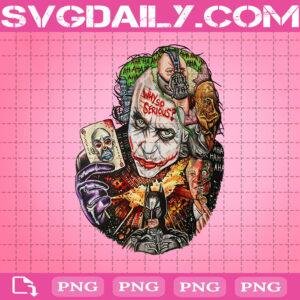 Why So Serious Png, Joker Png, Bat Man Png, Heath Ledger Png, Horror Png, Png Printable, Instant Download, Digital File