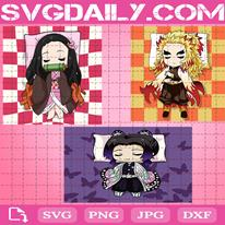 Anime Svg, Kamado Nezuko Svg, Rengoku Kyoujurou Svg, Shinobu Kocho Svg, Sleeping Svg, Digital Files
