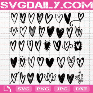 Heart Bundle Svg Free, Heart Valentine Svg Free, Love Svg Free, Love Heart Svg Free, Cut File Svg, File Svg Free