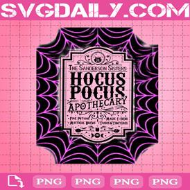 Hocus Pocus Apothecary Png, The Sanderson Sisters Png, Hocus Pocus Png, Png Printable, Instant Download, Digital File