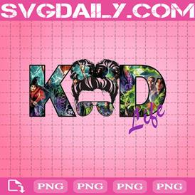 Hocus Pocus Kid Life Png, Halloween Png, Spooky Png, Messy Bun Png, Png Printable, Instant Download, Digital File