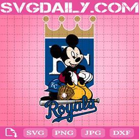 Kansas City Royals Mickey Svg, Kansas City Royals Svg, Royals Mickey Svg, Sport Svg, Mickey Svg, Mickey Sport Svg, MLB Sport Svg