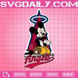Los Angeles Angels Mickey Svg, Los Angeles Angels Svg, Angels Mickey Svg, Mickey Svg, Mickey Sport Svg, Sport Team Svg