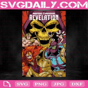 Masters Of The Universe Revelation Svg, TV Series Svg, Revelation Svg, Svg Png Dxf Eps AI Instant Download