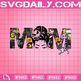 Mom Life Png, Jack Skeleton Png, Night Before Christmas Png, Pumpkin King Png, Png Printable, Instant Download, Digital File