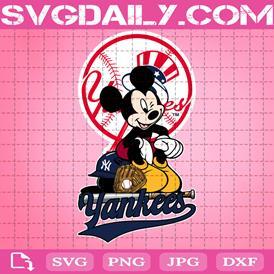New York Yankees Mickey Svg, New York Yankees Svg, Yankees Mickey Svg, Sport Svg, Mickey Svg, Mickey Sport Svg, MLB Sport Svg