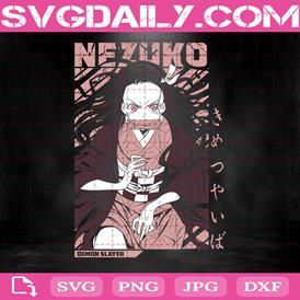 Nezuko Kamado Svg, Anime Svg, Nezuko Svg, Kimetsu No Yaiba Svg, Anime Lover Svg, Svg Png Dxf Eps AI Instant Download