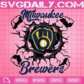 Peace Love Brewers Svg, Milwaukee Brewers Svg, MLB Team Svg, Brewers Svg, Sport Team Svg, Brewers Logo Svg