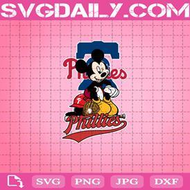 Philadelphia Phillies Mickey Svg, Philadelphia Phillies Svg, Phillies Mickey Svg, Sport Svg, Mickey Svg, Mickey Sport Svg, MLB Sport Svg