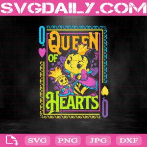 Queen Of Hearts Alice In Wonderland Svg, Queen Of Hearts Svg, Alice In Wonderland Svg, Svg Png Dxf Eps AI Instant Download