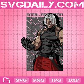 Rugal Bernstein Svg, The King Of Fighters Kyo Kusanagi Svg, Rugal The King Of Fighter Svg, Svg Png Dxf Eps AI Instant Download