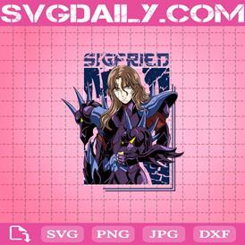 Saint Seiya Svg, Sigfried Dhube Alpha Svg, Anime Svg, Svg Png Dxf Eps AI Instant Download