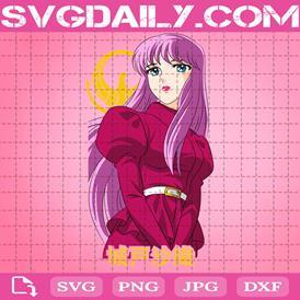 Saori Kido Svg, Seiyapedia Svg, Saint Seiya Saori Kido Svg, Anime Svg, Svg Png Dxf Eps AI Instant Download