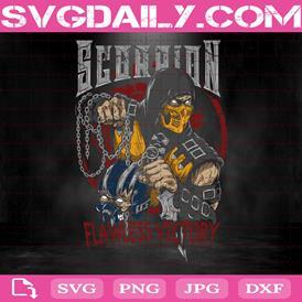 Scorpio Svg, Scorpion Mortal Kombat Svg, Mortal Kombat Svg, Svg Png Dxf Eps AI Instant Download