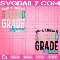 Second Grade Squad Svg, Any Grade Teacher Svg, Teacher Crew Svg, Teacher Svg, Teacher Gift Svg, Svg Png Dxf Eps AI Instant Download
