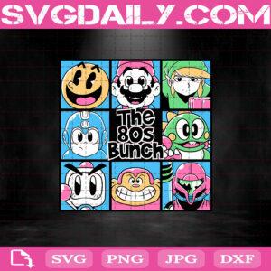 The 80s Bunch Svg, Video Game Svg, Angdzu Svg, Bomberman Svg, Bubble Bobble Svg, Donkey Kong Svg, Download Files