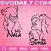 The Lion King Svg, Simba And Nala Svg, Simba Svg, Nala Svg, Disney Cartoon Svg, Lion King Svg, Download Files