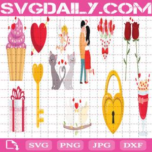 Valentine Bundle Svg Free, Valentine Svg Free, Heart Valentine Svg Free, Valentine's Day Svg Free, File Svg Free