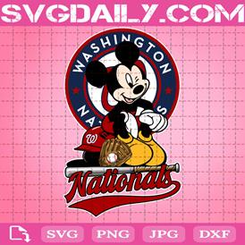 Washington Nationals Mickey Svg, Washington Nationals Svg, Nationals Mickey Svg, Sport Svg, Mickey Svg, Mickey Sport Svg, MLB Sport Svg