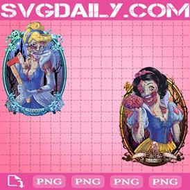 Zombie Princess Bundle Png, Ariel Png, Belle Png, Png Printable, Instant Download, Digital File
