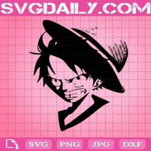 Monkey D. Luffy Svg, Monkey D. Luffy Straw Hat Svg, One Piece Svg, Luffy Svg, Anime Svg, Svg Png Dxf Eps Download Files